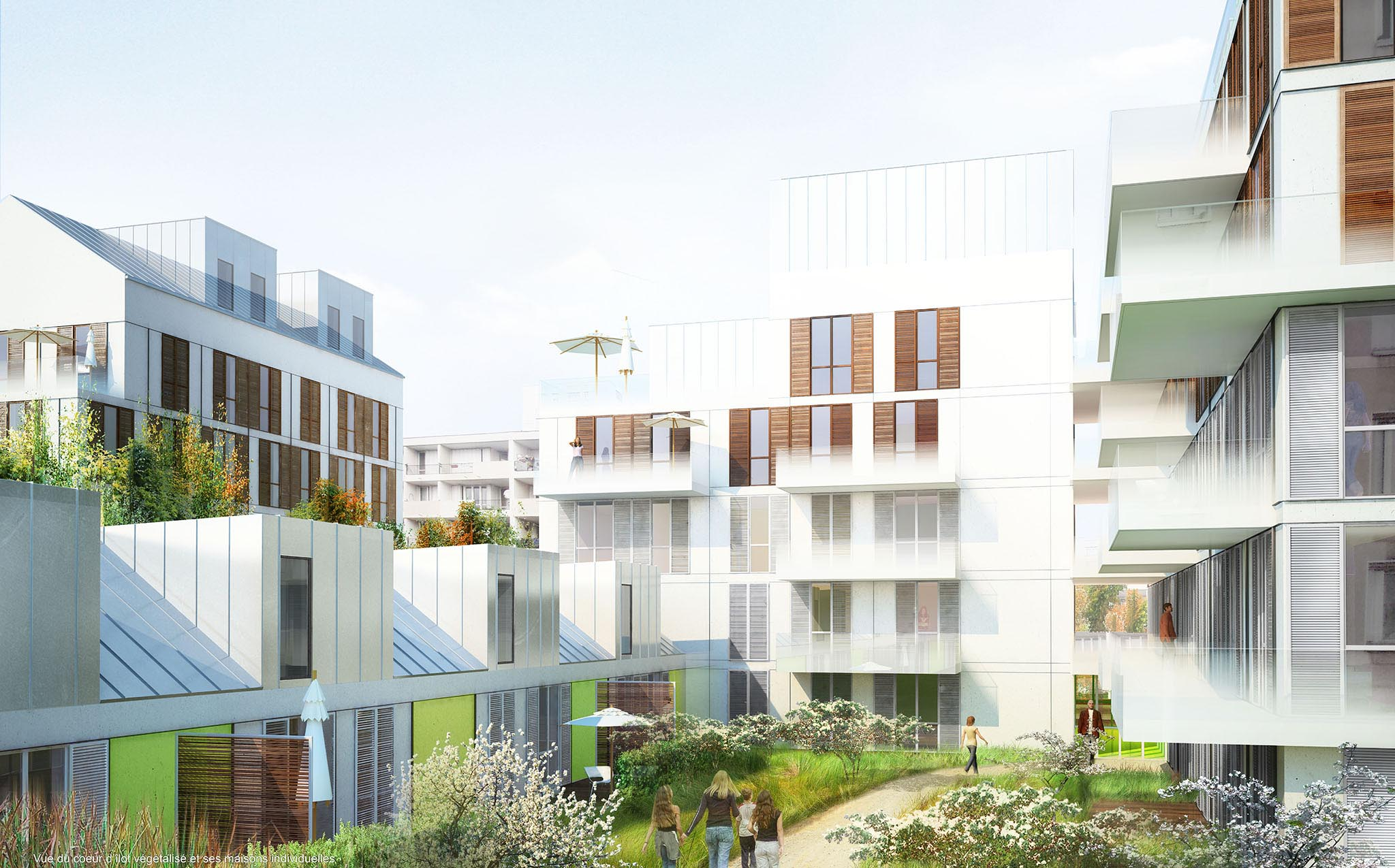 Logements collectifs, Neuilly sur Marne