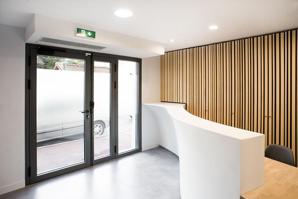Stavy architectes erp am nagement d 39 une clinique m dicale ophtalmologique saint maur les - Cabinet d architecture abidjan ...