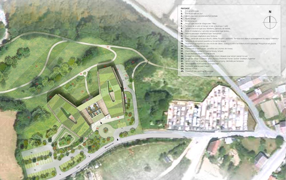 Relativ STAVY architectes Paris / ERP / Construction d'un EHPAD à Chatelus  HR68