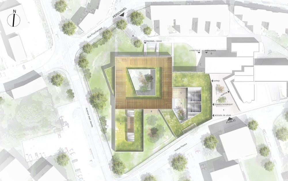 Relativ STAVY architectes / ERP / Construction d'un EHPAD à La Souterraine HR68