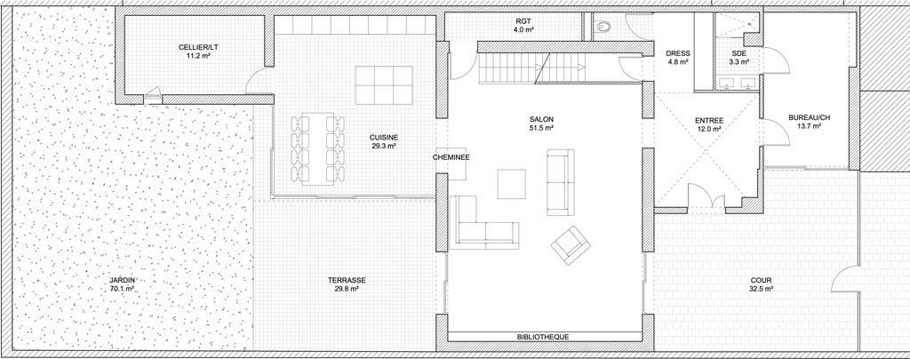 stavy architectes paris logements maison la ferme r novation cologique d 39 une maison. Black Bedroom Furniture Sets. Home Design Ideas
